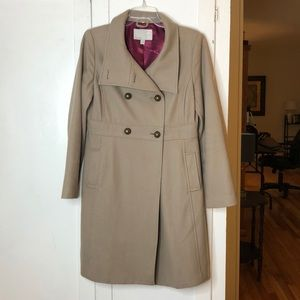 Jackets & Blazers - Warm and Cozy Stovepipe Taupe Peacoat